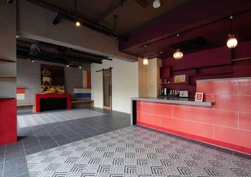 マンションクレセントコート・住人が自由に使えるカフェ